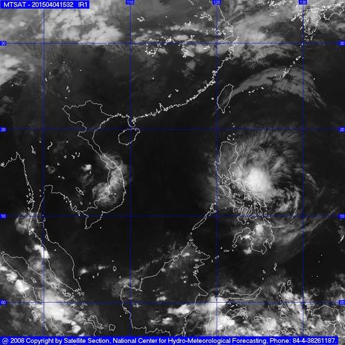 Chiều tối 5/4, bão Maysak giật cấp 11 tiến vào Biển Đông-2