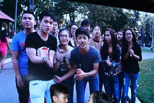 "khanh thi tu tin khoe bung bau 6 thang ""vuot mat"" - 16"