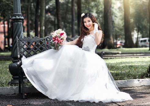 Lộ ảnh Phạm Thanh Thảo bí mật lấy chồng bên Mỹ-12