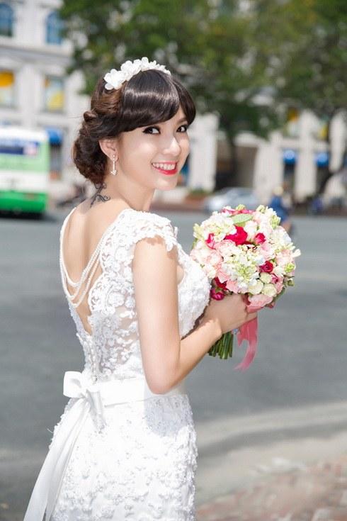 Lộ ảnh Phạm Thanh Thảo bí mật lấy chồng bên Mỹ-13