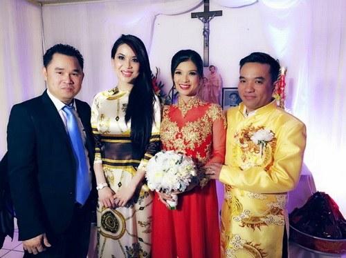 Lộ ảnh Phạm Thanh Thảo bí mật lấy chồng bên Mỹ-1