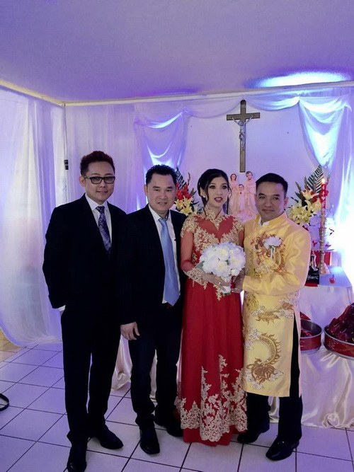 Lộ ảnh Phạm Thanh Thảo bí mật lấy chồng bên Mỹ-2