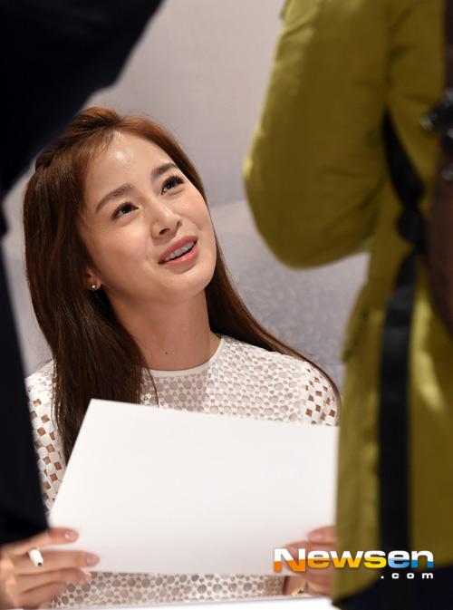 Kim Tae Hee tươi tắn giữa tin đồn sắp cưới-1