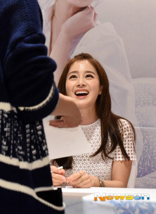 Kim Tae Hee tươi tắn giữa tin đồn sắp cưới-2
