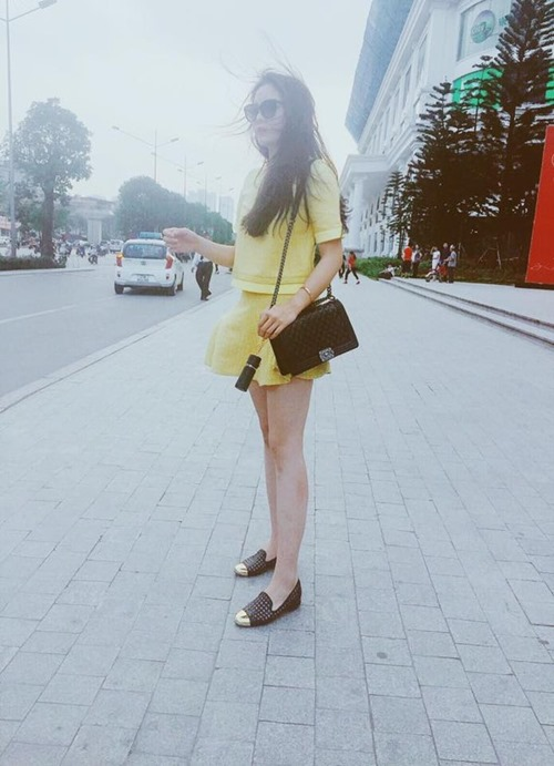 Thời trang dạo phố ngày càng tiến bộ của HH Kỳ Duyên-2