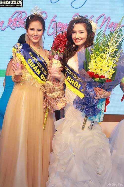 Hoàng Hạnh, Dương Hiểu Ngọc thắng lớn ở Hoa khôi thời trang-2