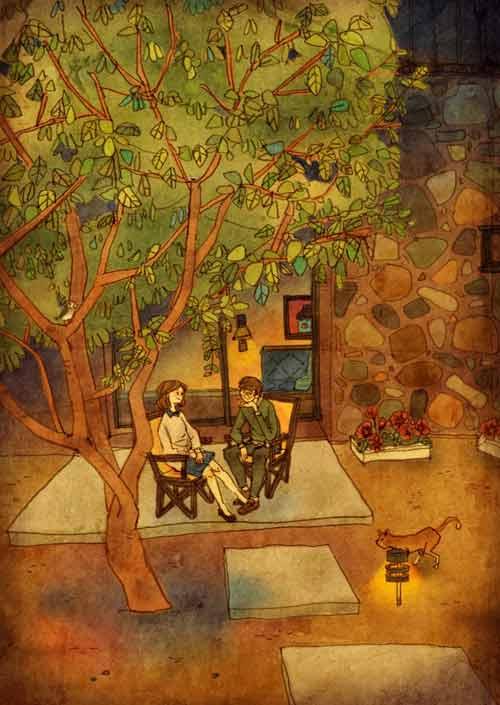 bo tranh dang yeu ve cuoc song vo chong hanh phuc - 6