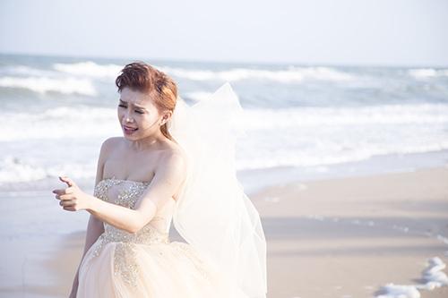 Tiêu Châu Như Quỳnh làm cô dâu trong MV mới-5