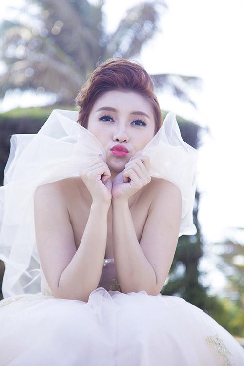 Tiêu Châu Như Quỳnh làm cô dâu trong MV mới-2