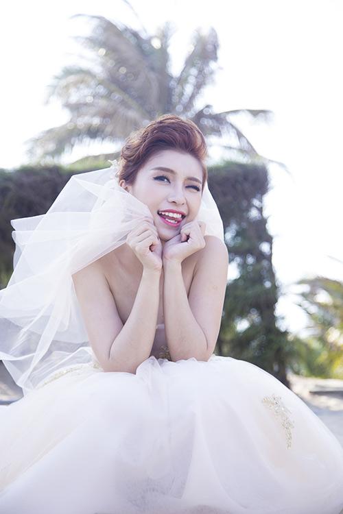Tiêu Châu Như Quỳnh làm cô dâu trong MV mới-3