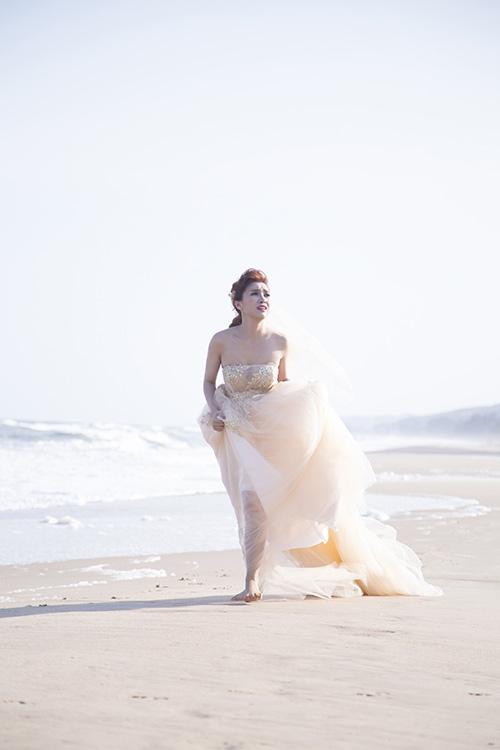Tiêu Châu Như Quỳnh làm cô dâu trong MV mới-4