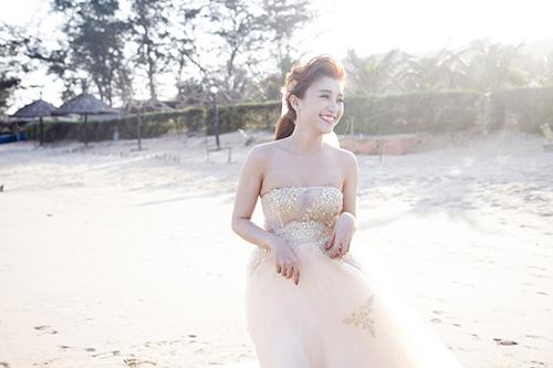 Tiêu Châu Như Quỳnh làm cô dâu trong MV mới-7
