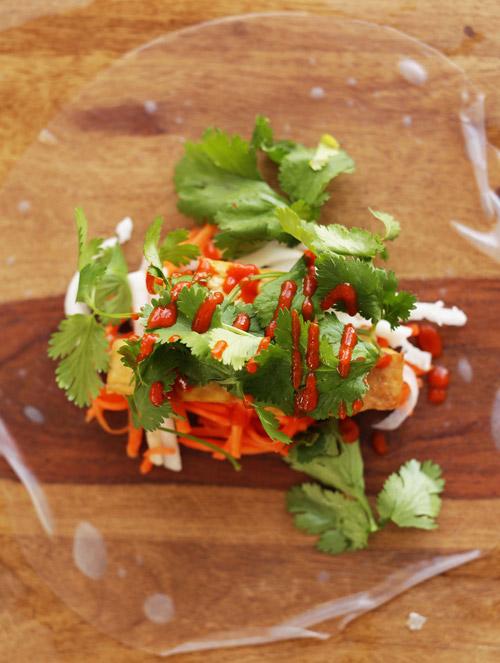 Đậu phụ cuộn rau củ đơn giản, dễ ăn-4