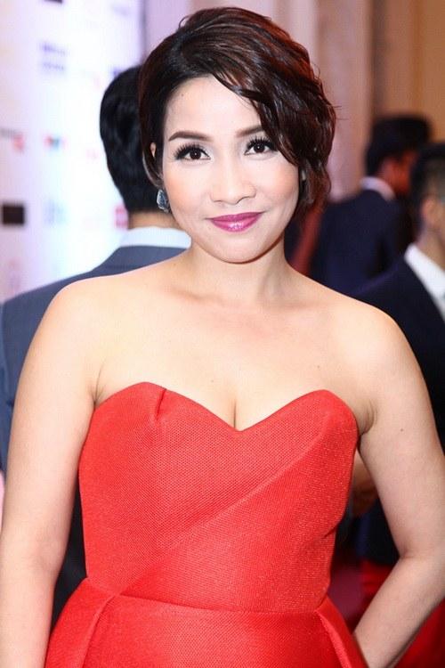 Diva Mỹ Linh U40 buông lơi vai trần gợi cảm-2