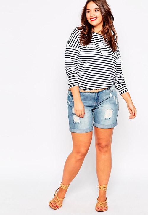 6 thủ thuật giúp nàng béo tự tin mặc quần sooc-6