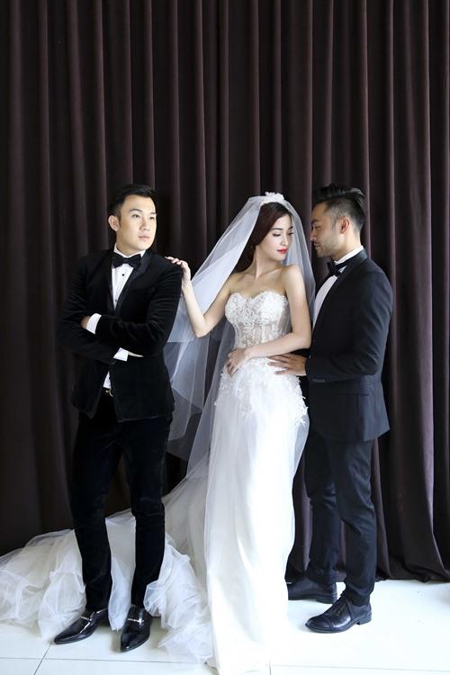 Dương Triệu Vũ hạnh phúc làm chú rể-1