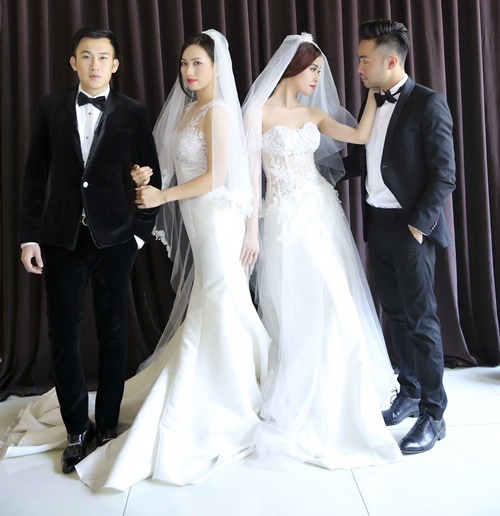 Dương Triệu Vũ hạnh phúc làm chú rể-6