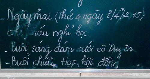 truong mam non 'bat' toan the hoc sinh nghi hoc chi vi... dam cuoi - 2