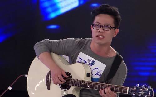 """""""chang trai keo keo"""" khoc nuc no trong vietnam idol - 5"""