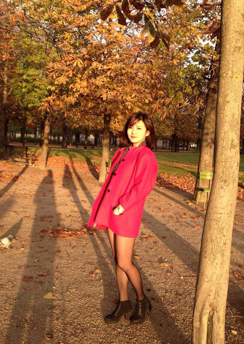 'hot girl mu' xinh ngat ngay gay 'bao' cong dong mang - 13