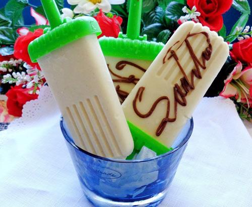 Cách làm kem sầu riêng không cần máy - 8