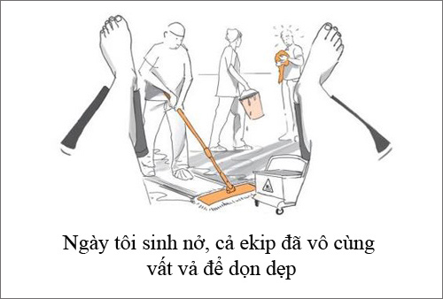 """xem them bo anh """"su that tran trui ve nam dau lam me"""" - 3"""