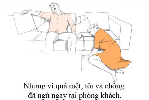 """xem them bo anh """"su that tran trui ve nam dau lam me"""" - 9"""