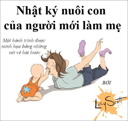 """xem them bo anh """"su that tran trui ve nam dau lam me"""" - 1"""