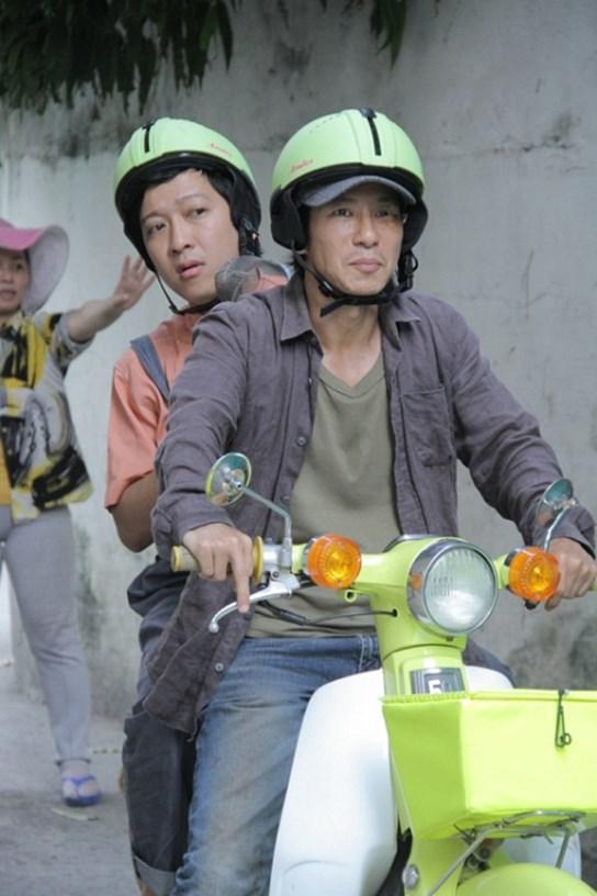 """truong giang """"lot xac"""" trong phim 10 ty dong cua ly hai - 2"""