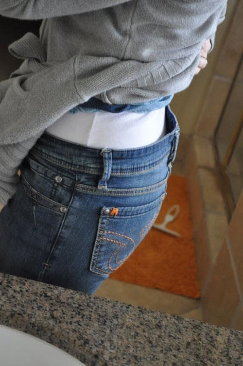 meo doi pho voi quan jeans bi chat va gian rong - 4