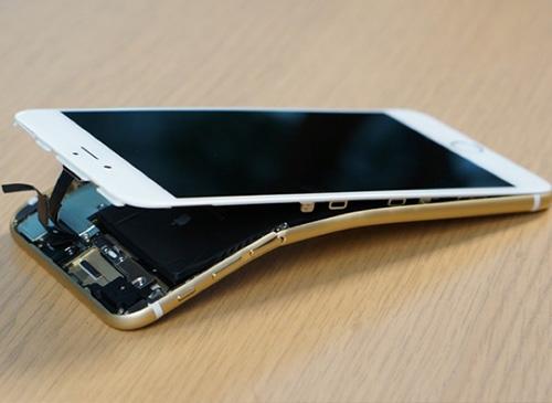 iphone 6s dung nhom tuong tu xe dap dua, tranh bi cong - 1