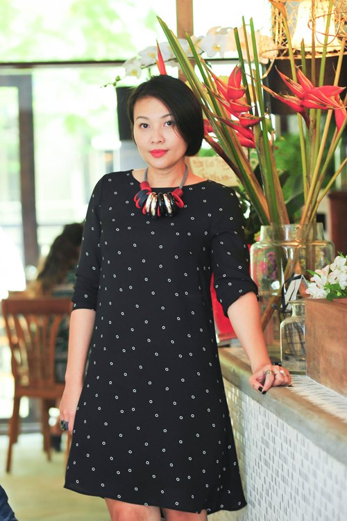 trinh kim chi van thon gon du 'bung bau' 7 thang - 6