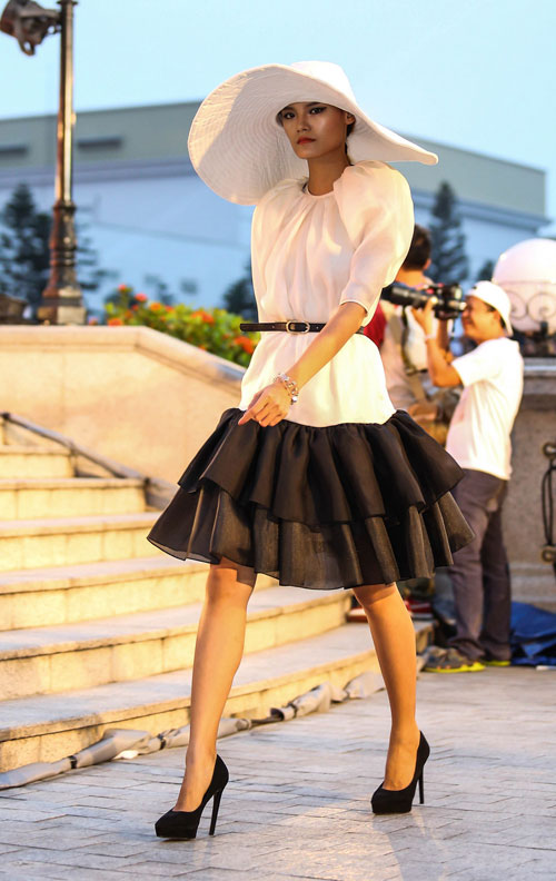 ngo thanh van, diem huong lam vedette tai dep fashion runway 4 - 4
