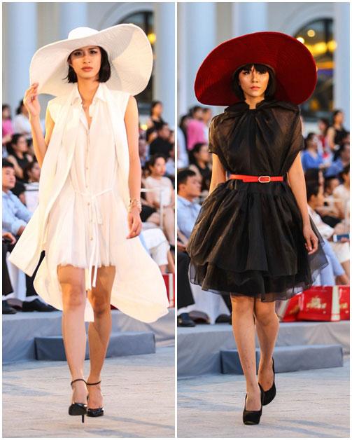 ngo thanh van, diem huong lam vedette tai dep fashion runway 4 - 5