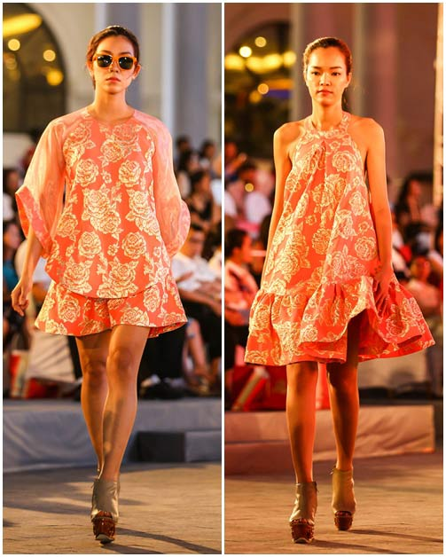 ngo thanh van, diem huong lam vedette tai dep fashion runway 4 - 12