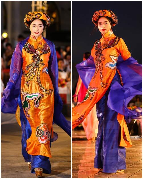 ngo thanh van, diem huong lam vedette tai dep fashion runway 4 - 9