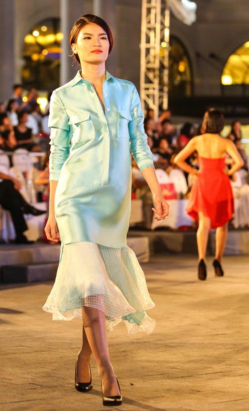 ngo thanh van, diem huong lam vedette tai dep fashion runway 4 - 14