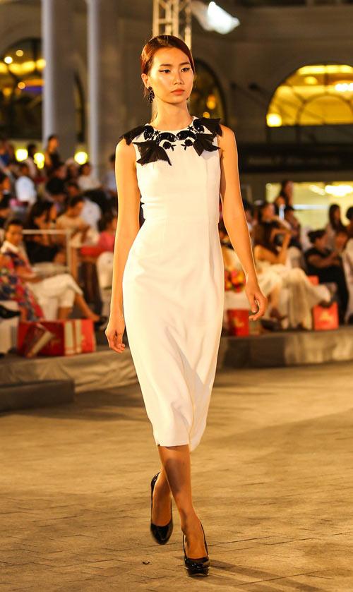 ngo thanh van, diem huong lam vedette tai dep fashion runway 4 - 15
