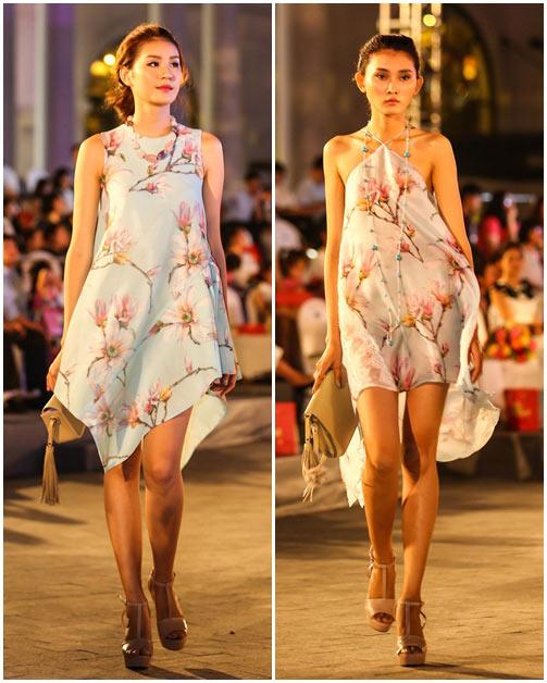 ngo thanh van, diem huong lam vedette tai dep fashion runway 4 - 18