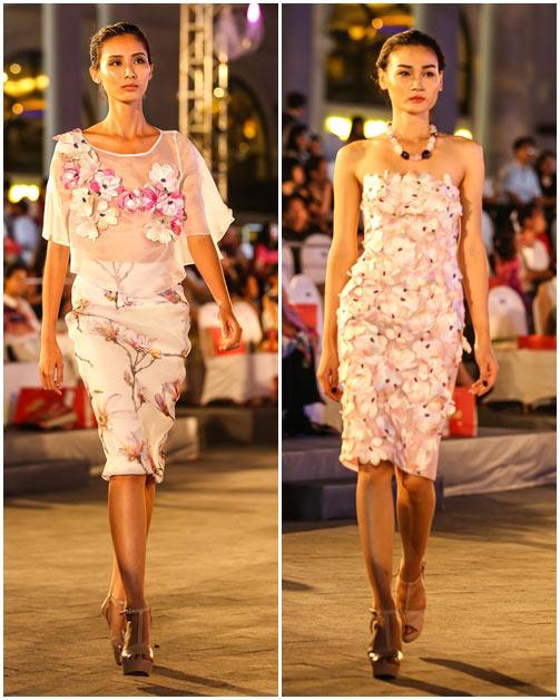 ngo thanh van, diem huong lam vedette tai dep fashion runway 4 - 19