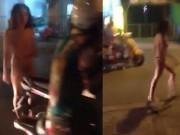 Dạy con - Chồng bỏ vì rạn da, vợ khoả thân khóc trên phố Sài Gòn