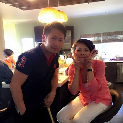 "con trai truong quynh anh tap lam mc ""don tim"" fan - 12"