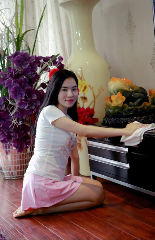 ba me don than xinh dep hoc het lop 10 van kiem ngan do/thang - 3