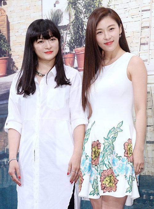ha ji won lan dau khoe chị gái truoc gioi truyen thong - 1