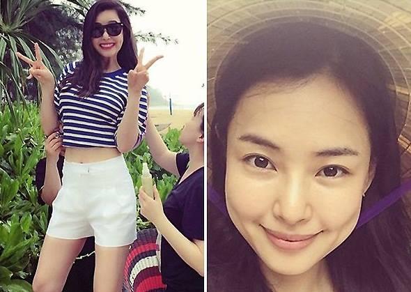 ha ji won lan dau khoe chị gái truoc gioi truyen thong - 7
