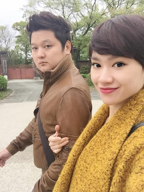 vo chong tra my idol hanh phuc di du lich nhat ban - 4