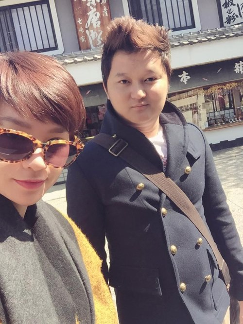 vo chong tra my idol hanh phuc di du lich nhat ban - 7