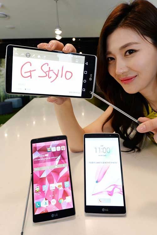 lg ra mat smartphone tam trung ho tro but cam ung g stylo - 1