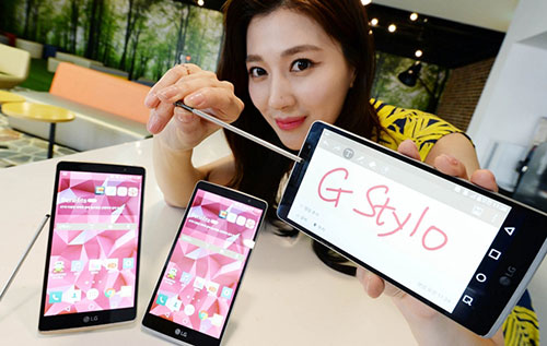 lg ra mat smartphone tam trung ho tro but cam ung g stylo - 2