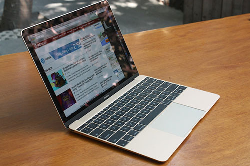 macbook 12 inch ve viet nam, gia 36 trieu dong - 1